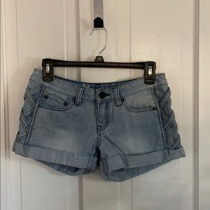 Hurley Jean shorts with braid detail